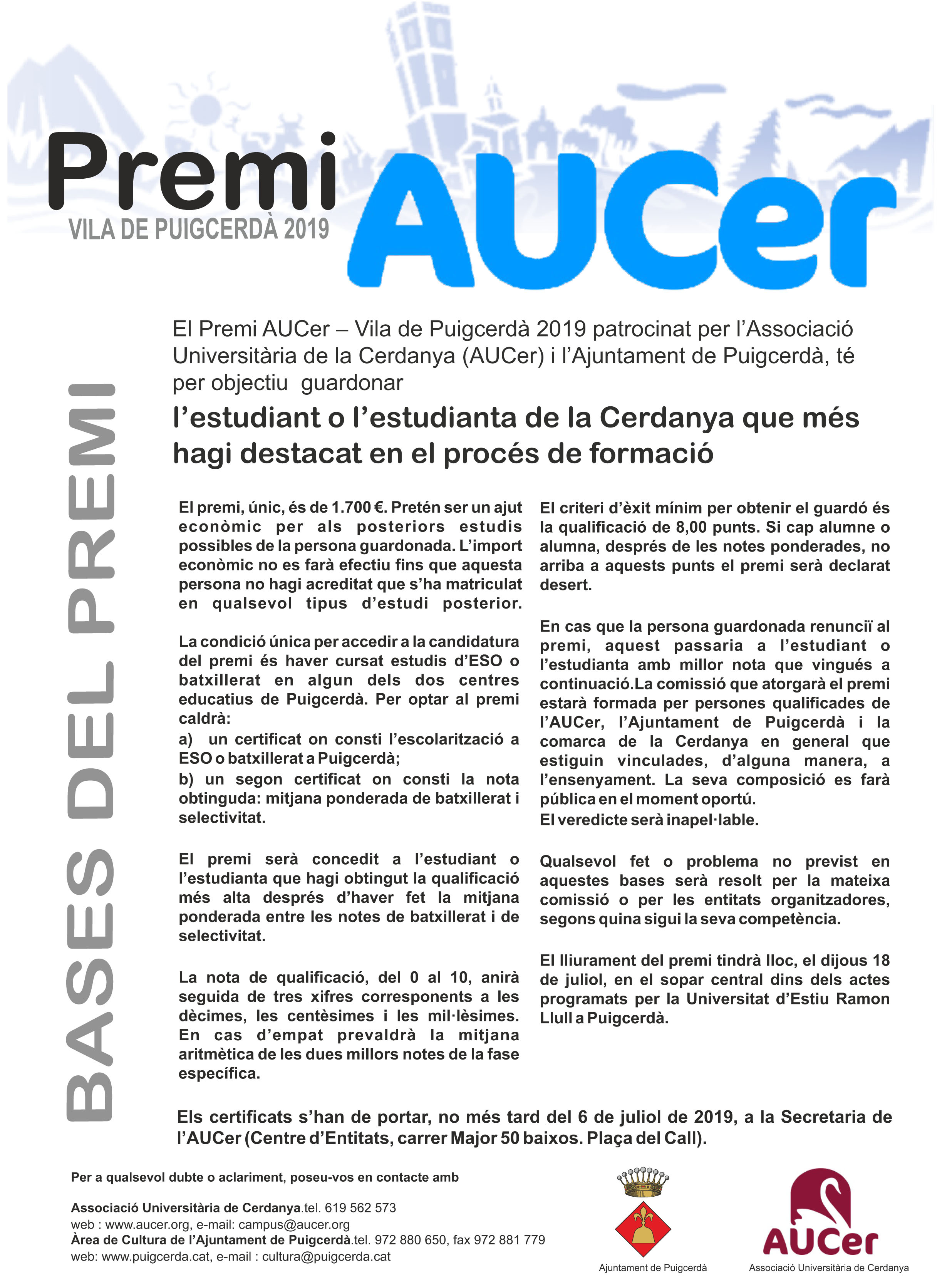 0 2019 cartell bases premi AUCER.cdr